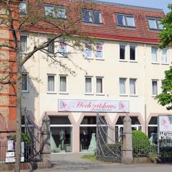In Karlsruhe ist unser Büro im selben Gebäude wie das Hochzeitshaus.